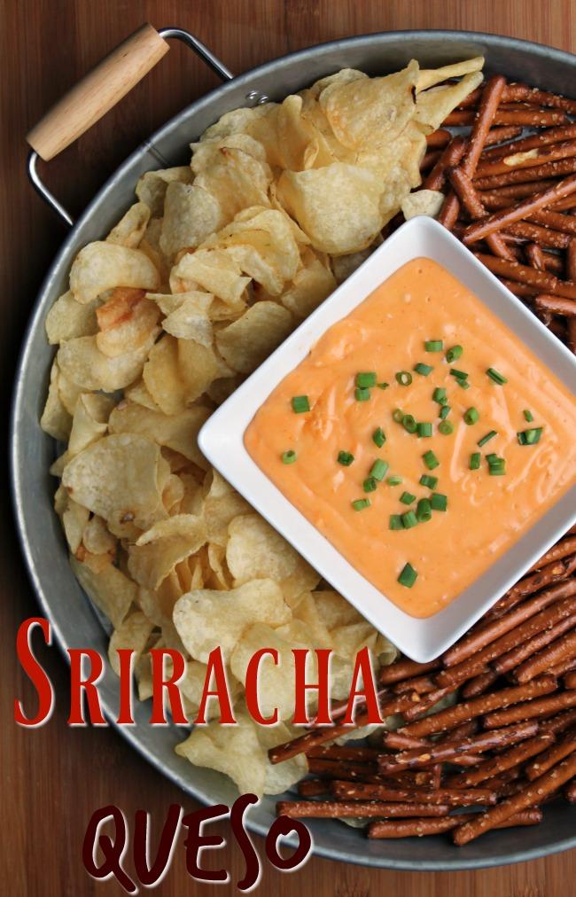Sriracha Queso Dip