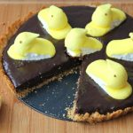 Easter PEEPS Chocolate Tart