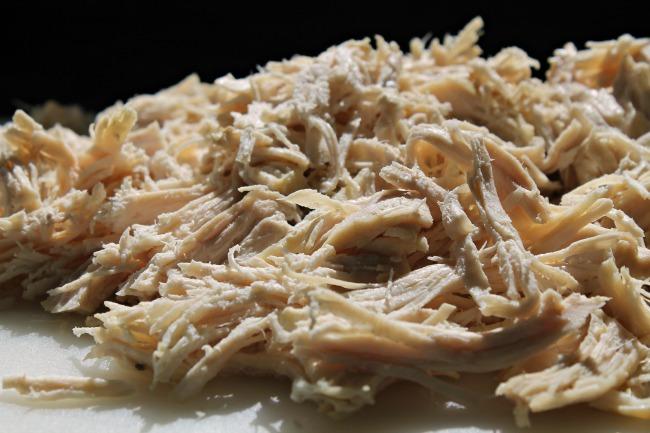 Instant Pot Chicken Caesar Wraps