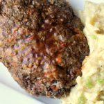 Instant Pot Meatloaf Glazed