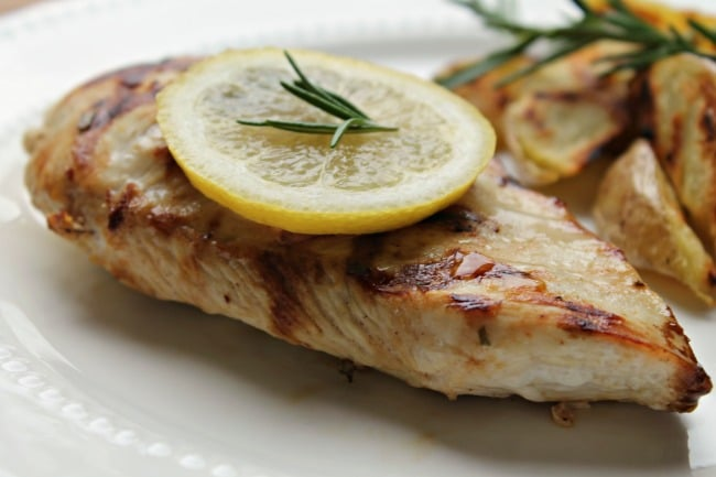 Lemon Rosemary Grilled Chicken - Foody Schmoody Blog ...