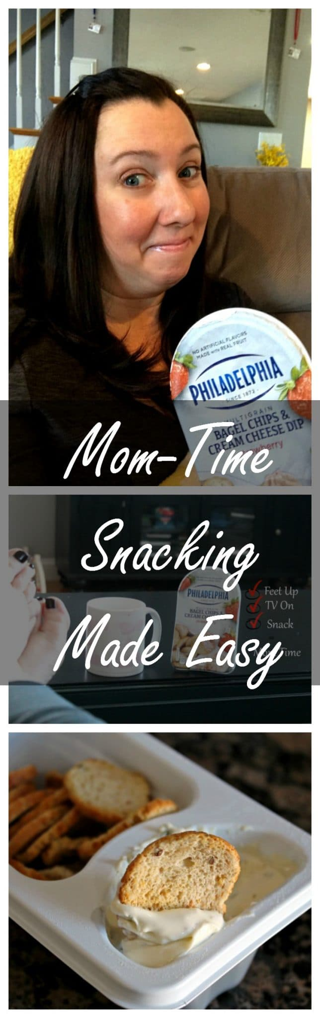 Mom Time Snacking Made Easy #ad