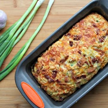 savory garlic zucchini bread