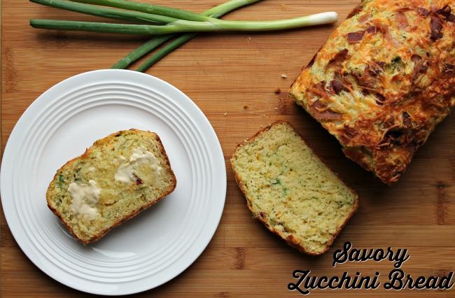 Savory Zucchini Bread - Foody Schmoody Blog | Foody Schmoody Blog