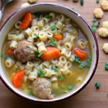 Instant Pot Meatball Soup 15 minutes
