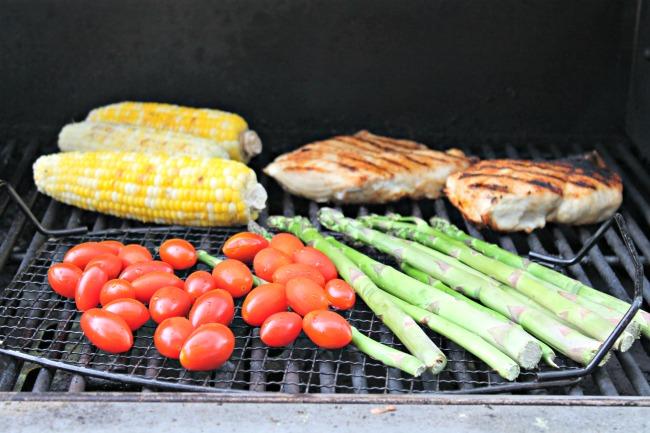 Cobb Salad Grilling