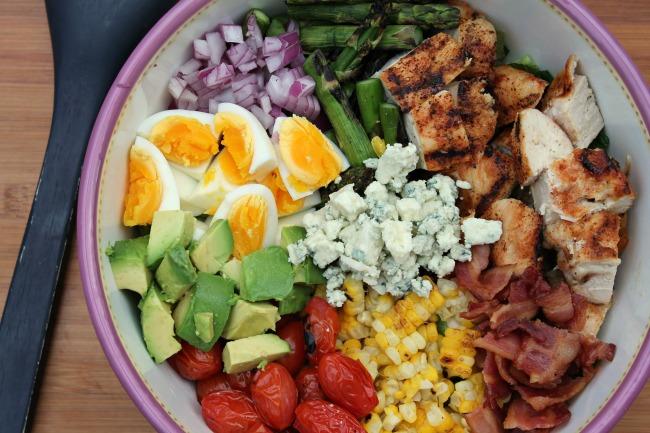 Grilled Cobb Salad Bowl