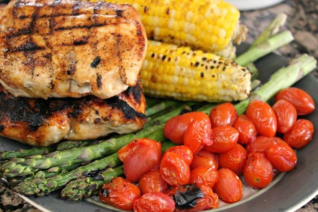 grilled cobb salad dinner entree