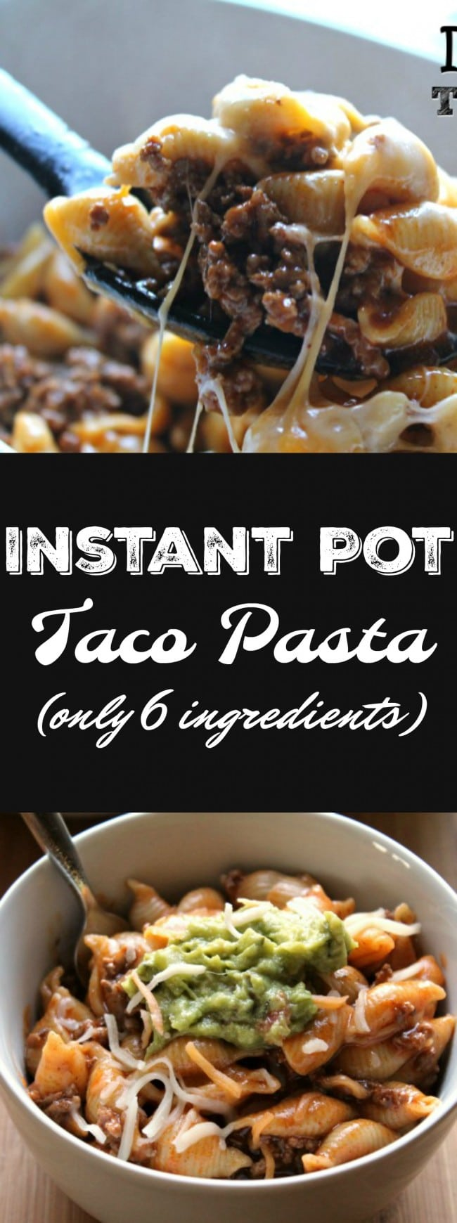 Instant pot taco pasta only 6 ingredients foody schmoody blog instant pot taco pasta 6 ingredients forumfinder Image collections