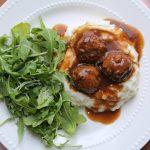Meatballs in Gravy in Instant Pot