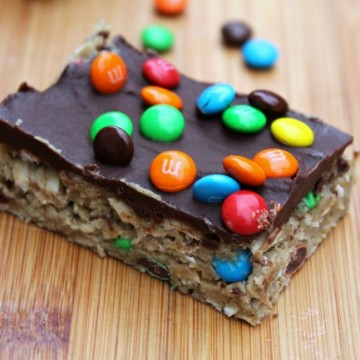 no bake sunbutter bars