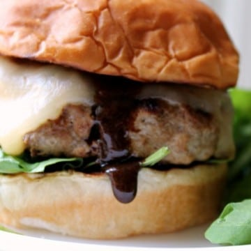 Sweet Spicy Turkey Burger