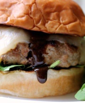 Sweet Spicy Turkey Burger