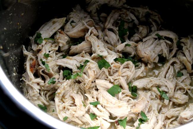instant pot chicken salsaverde