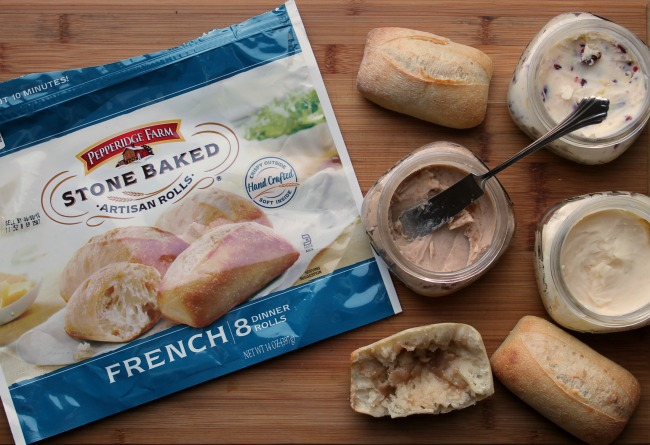 pepperidge farm rolls and package