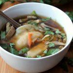 Easy Pot Sticker Soup Bowl