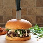Blue Cheese Bacon Burger Knife