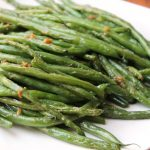 green beans platter