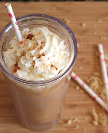 Snickerdoodle iced coffee