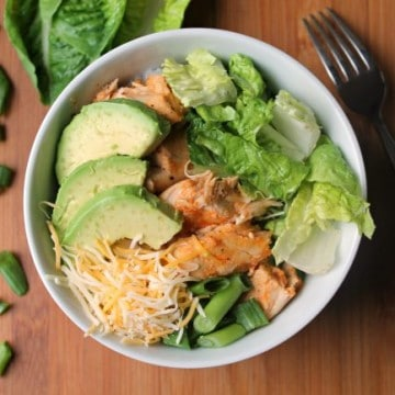 Buffalo Chicken Rice Bowl