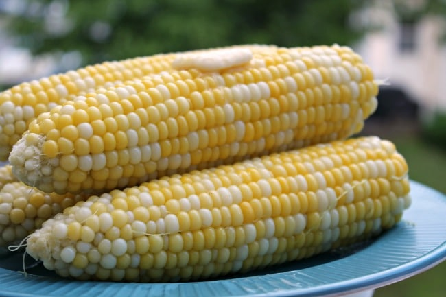 instant pot corn with butter