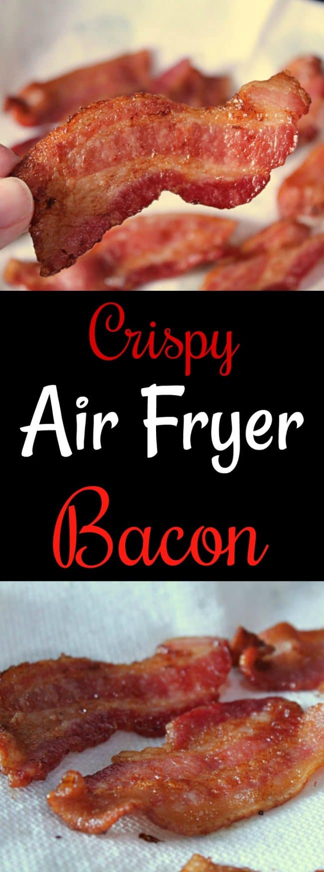 How To Make Crispy Air Fryer Bacon