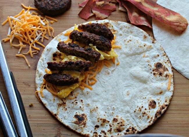 morningstar breakfast burrito prepped
