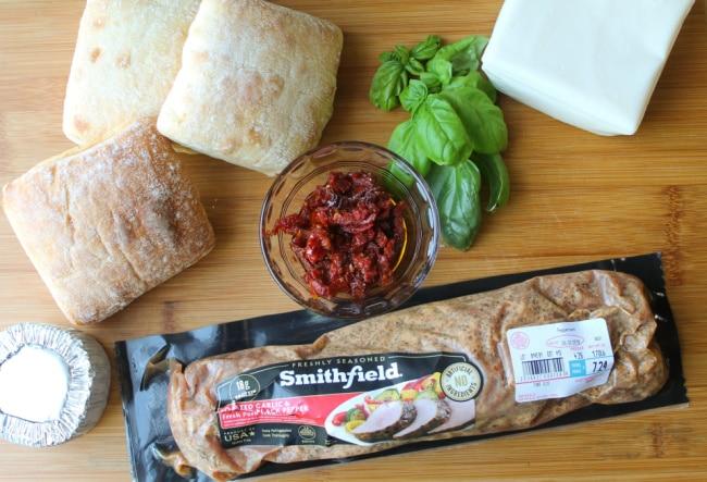 Grilled Pork Sandwich Ingredients