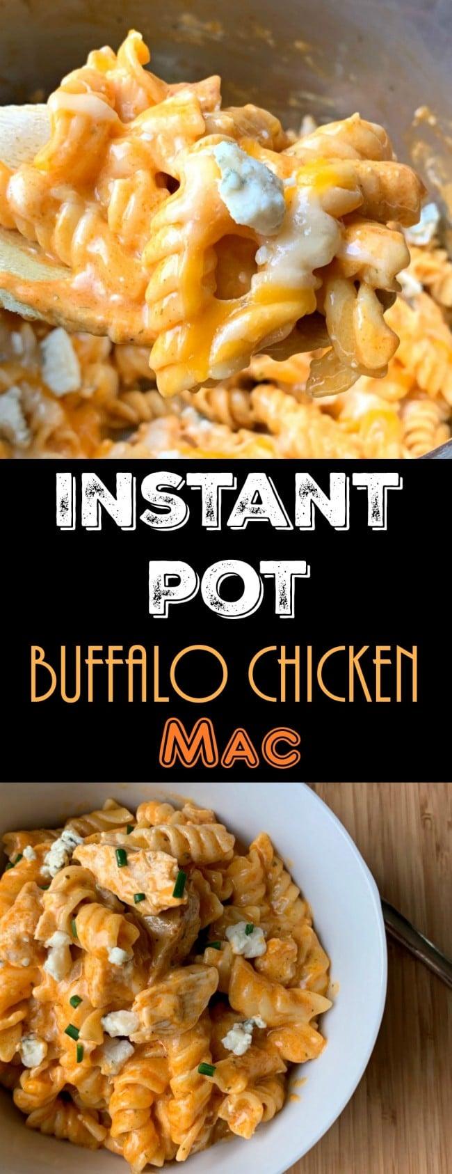 Instant Pot Buffalo Chicken Pinterest photo