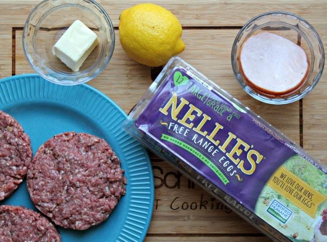benedict burger ingredients