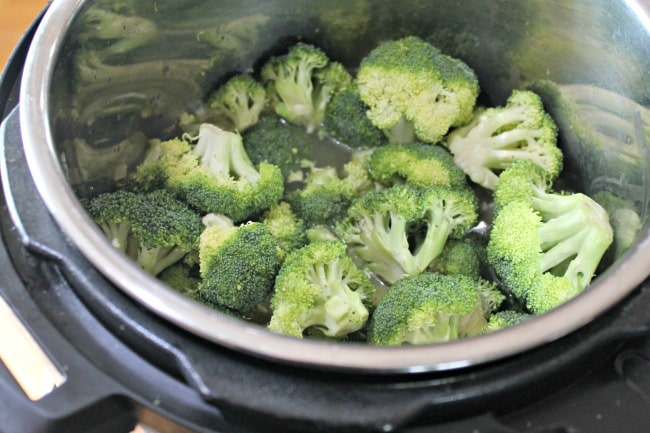 broccoli in instant pot