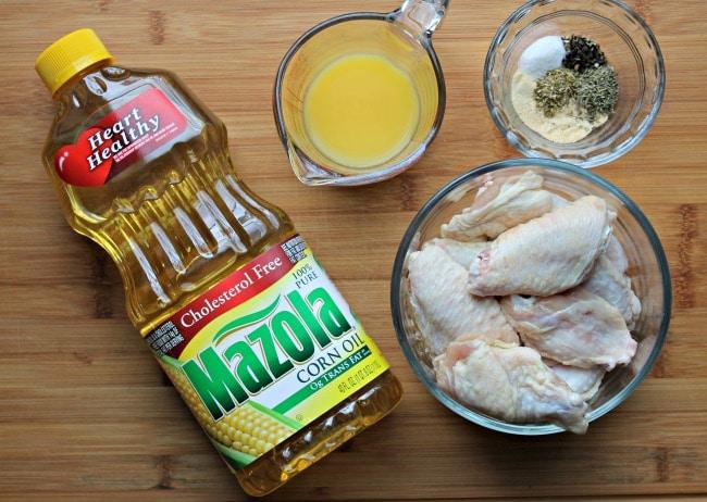 grilled chicken wing marinade ingredients